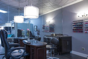 manicure & shellac area