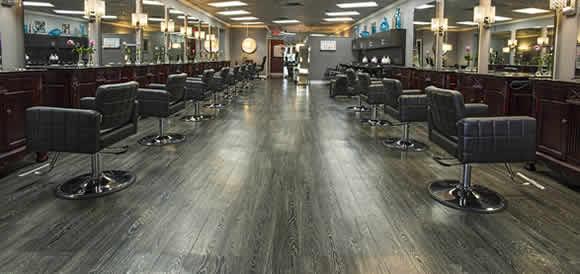 creations salon styling area